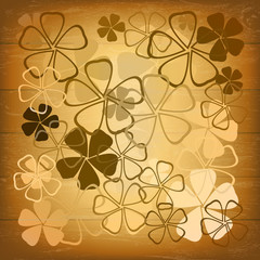 Abstract beautiful floral background.Vector