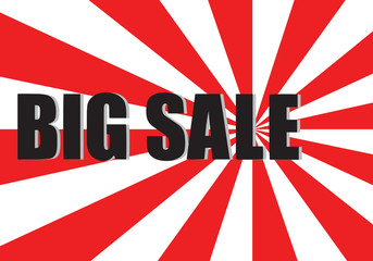 Big sale poster,EPS10 Vector.