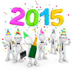Three Dimention Men Celebrate 2015