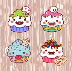 cupcake cartoon 22