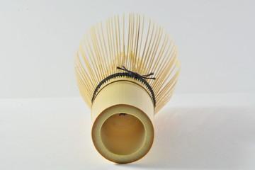 green tea with bamboo