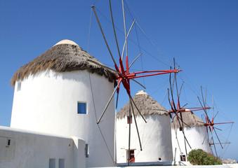 Windmuehlen auf Mykonos