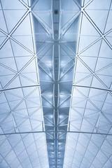 Details of ceiling of modern building