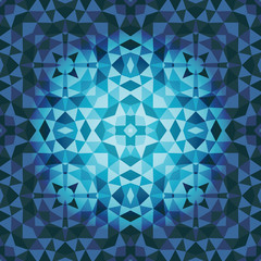 Abstract vector background in blue