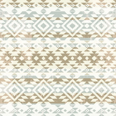 Geometric ornamental seamless pattern