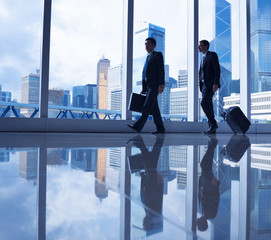 Two Businessman on Business Travel