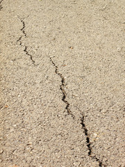 cracked asphalt background