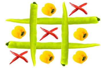 tic tac toe isolated