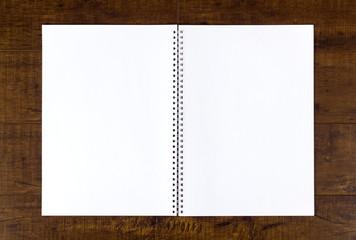 Empty booklet