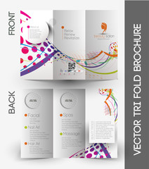 Beauty Care & Salon Tri-Fold & Brochure Design