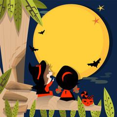Halloween full moon A