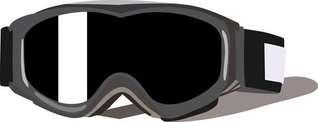 Winter sport glasses
