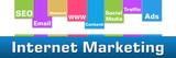 Internet Marketing Colorful Stripes