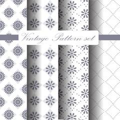 classic seamless pattern set 2