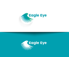 Eagle Eye web Icons and vector logo