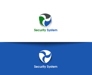 Security System web vector logo Design
