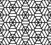 Sześciokąty poszatkowana tekstury. Bezproblemowa geometryczny wzór.