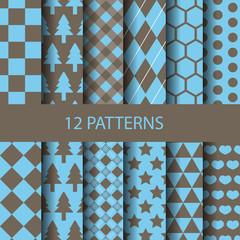 basic geometric pattern set