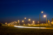 Road near the factory at night. - 70189979