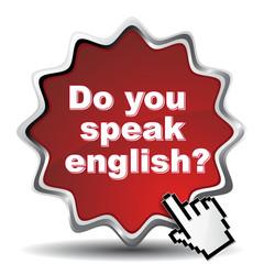 DO YOU SPEAK ENGLISH? ICON