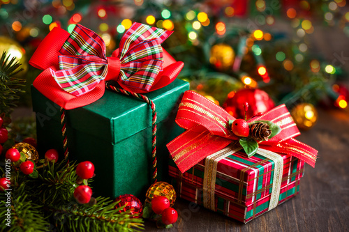 Christmas gift boxes - 70190715