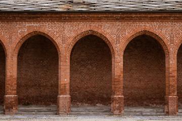 Arcate di un portico