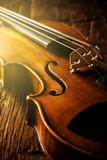 Fototapety violin in vintage style