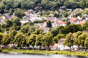 Ancient Lake European Village