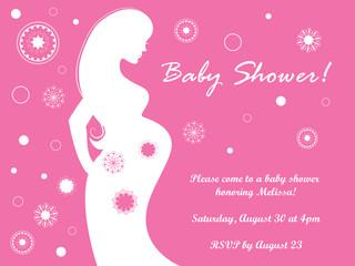 Baby Bump Invite