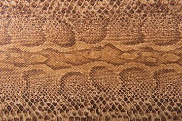 Brown snake pattern imitation, background