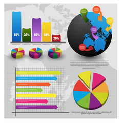 info-graphics for web or print