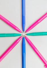 Close up, 8 Ballpoint Pen.