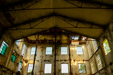 Dirty Abandoned Warehouse