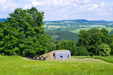 Bunker in the hills