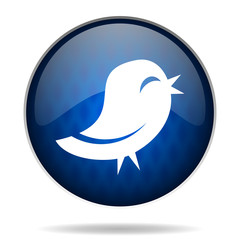 twitter internet blue icon