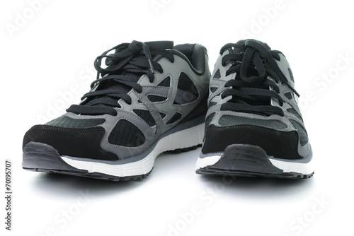 canvas print picture Men sport shoes