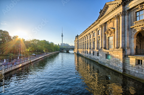 Poster Museum Island in Berlin, Germany