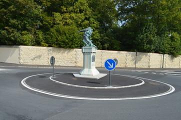 Rond-point en ville