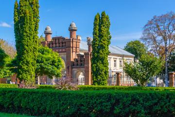 Main entrance of Chernivtsi National Universit of Ukraine