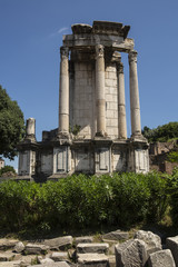 Ancient Roman Ruin - Remains of a Temple