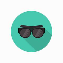 sun glasses icon illustration