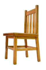 Isolated Simple Chair