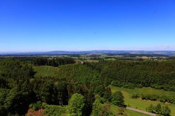 Weitblick über Bayern