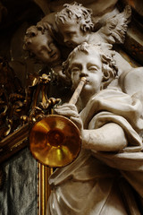 angel with the trumpet