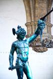 Perseus with the head of Medusa, Piazza della Signoria poster