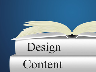 Content Designs Indicates Diagram Models And Plan