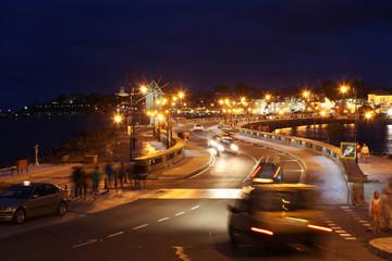 Nessebar at Night, June 18, 2014