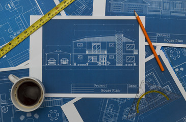 architect blueprints