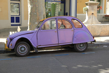 Vintage French car