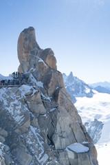 Mont Blanc rocks